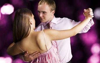 10 tanečních kurzů pro pár!
