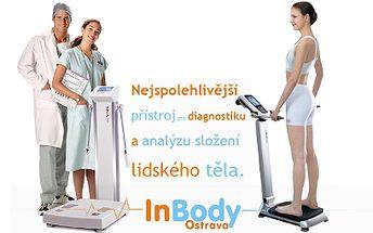 Analýza stavby těla od 99 Kč! Profesionální přístroj IN BODY!