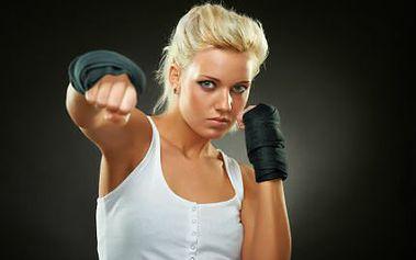 Kondiční thaibox pro ženy! Dostaňte se do formy díky měsíční permanentce!