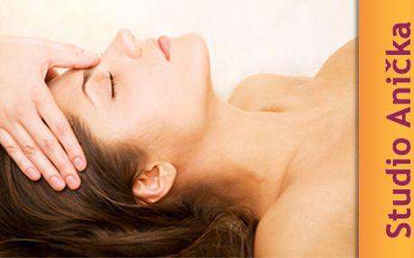 Hodinový balíček energie Reiki ve studiu ANIČKA za 199 Kč. Nechte na sebe působit léčivou energii, zbavte se bolestí a únavy. Poznejte moc sebeuzdravování!