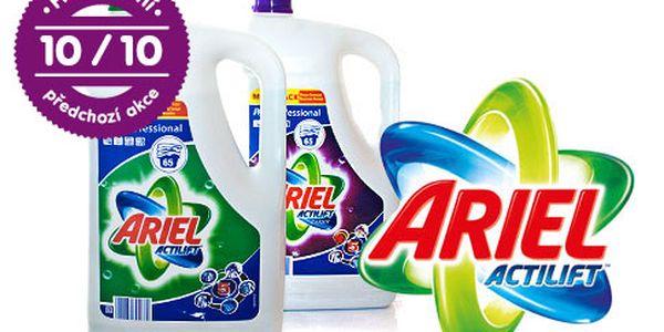 Ariel Actilift – 2 prací gely na 130 cyklů praní, jeden na bílé a druhý na barevné prádlo