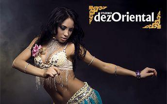 Zľava až 60% na 15-týždňový kurz orientálnych tancov v štúdiu dezOriental! Naučíte sa klasický orientálny brušný tanec, americký tribal tanec ATS alebo tribal fusion štýl!