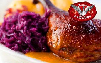 KAČACIE HODY pre 4 osoby len teraz za 19,90 € v reštaurácii U Milana v Slovenskom Grobe! Vezmite rodinku či priateľov na skutočný gurmánsky zážitok so zľavou 61%!