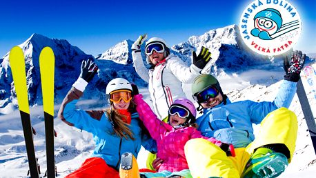 Dobrá správa pre milovníkov zimných športov. 4 - hodinový alebo celodenný Skipass do Jasenskej doliny môže byť váš už od 8,50 €.