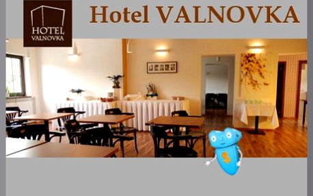 Kamenice (Praha 20 km), Hotel Valnovka. Pobyt na 3 dny pro 2 osoby s polopenzí. Hotelové fitness, stolní tenis, dětská herna. Možné zajistit hlídání dětí. Přijeďte poznat krásy Ladova kraje a načerpat síly v příjemném prostředí.