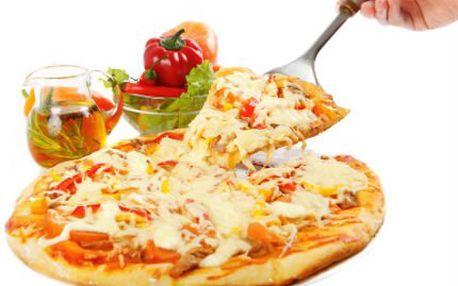 1+1 PIZZA ZDARMA! Výběr z 20 druhů pizz. Sýrová, salámová či šunková rozkmitá váš jazýček!