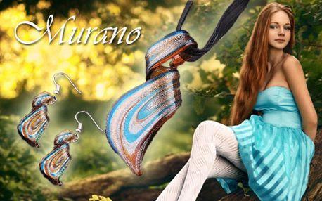 Nádherný set šperkov z točeného MURANO skla len za 9,50 € vrátane poštovného! Potešte seba alebo svoju milovanú originálnym darčekom krásnej darčekovej krabičke!