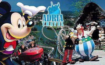 Nezabudnuteľný 5-dňový zájazd do Paríža iba za 154€! Zažijte raj detských rozprávok Disneyland alebo Asterix park, múzeum Louvre i legendármu Eifelovku.