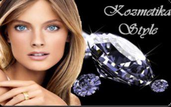 Iba 1,50€ za zľavový kupón so 75% zľavou platnou OPAKOVANE do 31.1.2013 na balíčke ošetrenia pleti diamantovou mikrodermabráziou a maskou na tvár v kozmetickom salóne Kozmetika Style! Zbavte sa nedostatkov pleti a dosiahnite jemnejšiu a mladšie vyzerajú