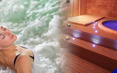Privátní sauna vířivkoupro 2 osoby na 2hodiny s lahví sektu. Romantika, relaxace, odpočinek. To vše vX-STYLE BEAUTY