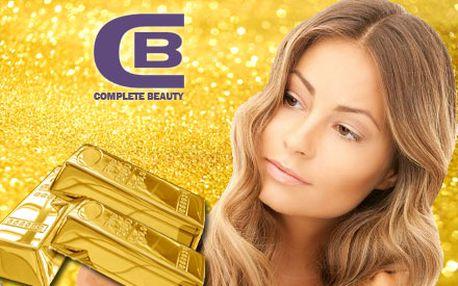 Len 4,50 € za jedinečnú polhodinovú masáž pleti a dekoltu so zlatom! Nechajte svoju tvár oddýchnuť v salóne Complete Care Beauty v Žiline a získajte úsmev na tvári so zľavou 50%.