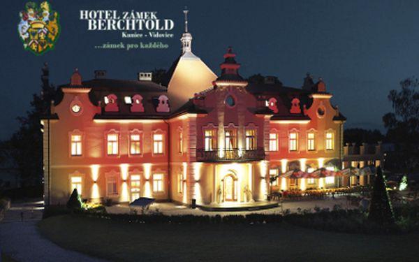 Luxusní wellness pobyt na zámku Berchtold za 2490 Kč PRO DVA na 3 dny!
