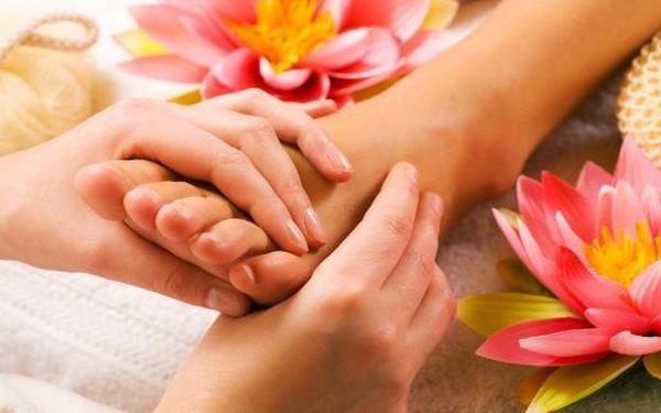 75 minutová reflexní thajská masáž nohou.