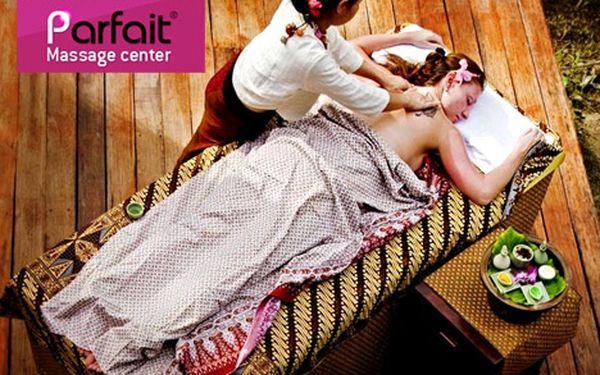 Tradiční thajská masáž v centru Prahy