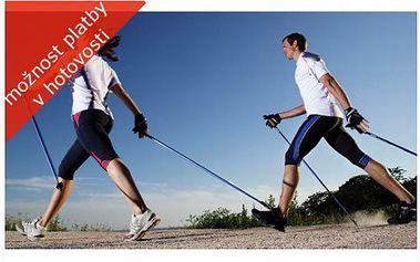Nejlevněji v ČR, pár trekingových holí za 189 Kč! Teleskopické hole s odpružením šetří vaše klouby a zajistí správné držení těla při sportu!