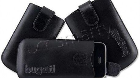 Značkové kožené pouzdro na mobil Bugatti