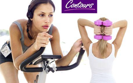MESAČNÁ permanentka do špeciálneho fitness pre ženy - CONTOURS + týždeň cvičenia navyše ZDARMA! Vyskúšajte koncept kruhového cvičenia so skúsenou trénerkou so zľavou 60%!