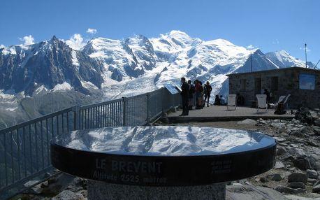 Lyžovačka v Mont Blanc letecky na 4 dni, preži Valentínsky víkend aktívne na lukratívnej lyžovačke v Chamonix-Mont Blanc a v špičkovom hoteli