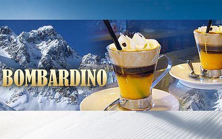 2x teplý míchaný nápoj Bombardino