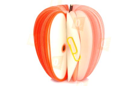 Originální papírový trhací bloček ve tvaru jablka a poštovné ZDARMA! - 9