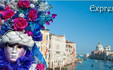 Světově proslulý karneval v Benátkách + ostrov Muráno od ExpressBus za pouhých 1099 Kč!