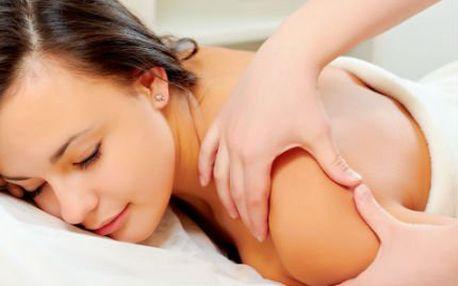 Zdravotní masáž zad a horních či dolních končetin jen za 149 Kč!