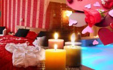 3 denní VALENTÝNSKÝ POBYT s romantickým menu v Parkhotel Morris Nový Bor