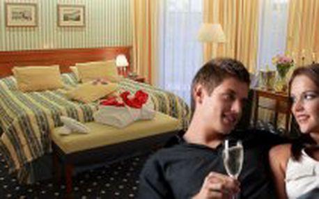 3 denní VALENTÝNSKÝ POBYT s luxusními zábaly v Golf hotel Morris Mariánské Lázně