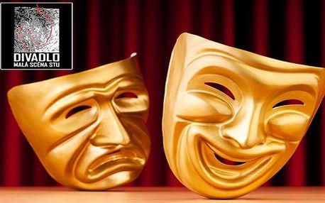 Vyberte sa za kultúrou a strávte príjemný večer v divadle. Príďte do Divadla Malá scéna STU na ľubovoľné predstavenie s Vašimi obľúbenými hercami za polovičnú cenu 6 €.
