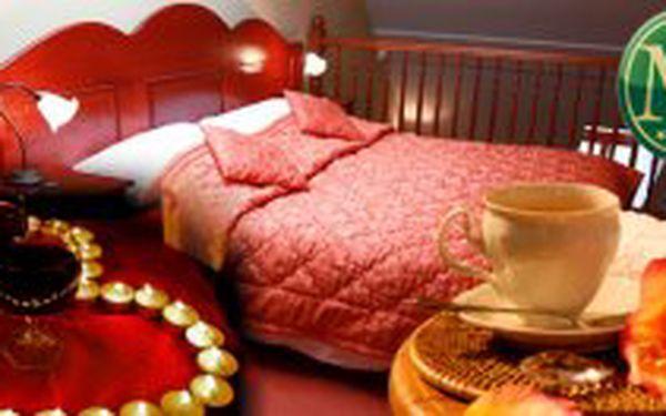 3 denní ROMANTICKÝ POBYT s valentýnským menu pro 2 osoby v hotelu Morris Česká Lípa