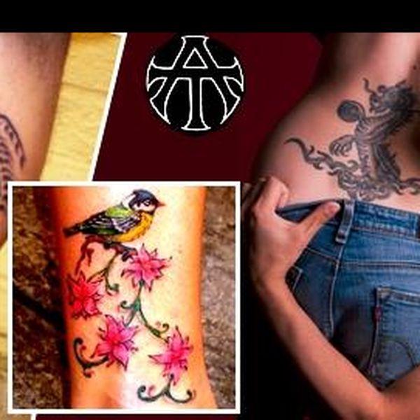 Opakovačka - Ozdob své tělo profesionálním tetováním s 40% slevou, nech si opravit své staré tetování nebo si můžeš navrhnout svůj VLASTNÍ MOTIV!