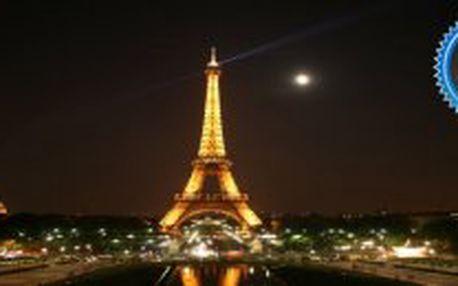 3 denní letecký zájezd do Paříže s ubytováním za 7590Kč. Nyní stačí záloha 4000Kč!