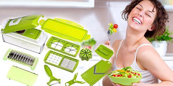 Kuchynský krájač, ktorý obsahuje všetko, čo potrebujete na prípravu akéhokoľvek jedla. Praktický pomocník len za 19,99 € po 50% zľave.