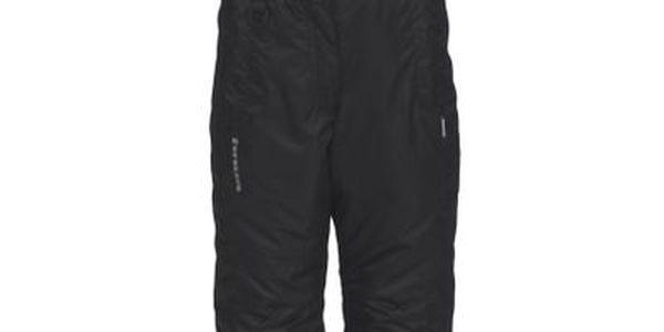Dívčí černé lyžařské kalhoty Envy