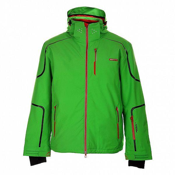 Pánská sytě zelená lyžařská bunda Envy