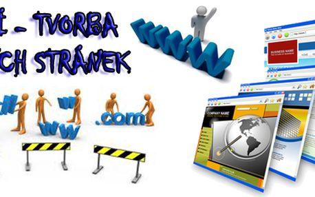Dvoudenní školení - tvorba webových stránek za 1500 Kč!