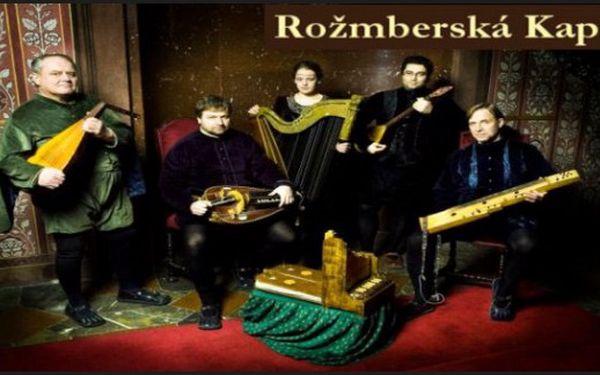 Rožmberská kapela - koncert s dobovými nástroji