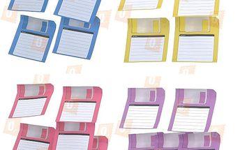 Poznámkový blok s designem diskety - na výběr ze 4 barev a poštovné ZDARMA! - 13