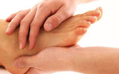 30min. RELAXAČNÍ uvolňující masáž plosky nohou teplým olejem v NATURCENTRUM v Praze, Brně, Ostravě a Hradci Králové