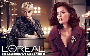 Luxusný vlasový balík od Jany Visage - farba, strih a účes podľa želania, styling so zľavou 54%! Vdýchnite svojim vlasom nový život so starostlivosťou L´Oréal Professionnel!