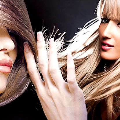 Střih a regenerace keratinem pro krásné vlasy