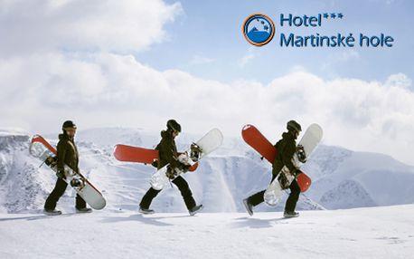 3 alebo 4-dňový pobyt v Hoteli Martinské hole*** priamo v lyžiarskom stredisku Winter Park Martinky! Čaká na vás skvelá lyžovačka na prírodnom snehu, 9,5 km kvalitných zjazdoviek!