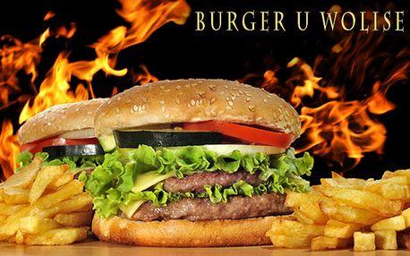 2x Burger Royal Wolis a 2x hranolky