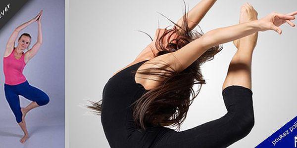 10 hodinový kurz dance jógy - spojení jógy a tance!Pečujte o svou postavu a zrelaxujte svou mysl se slevou 50%!!!