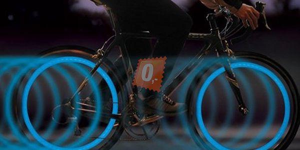 Cyklistický bezpečnostní prvek - LED osvětlení, 2 kusy a poštovné ZDARMA! - 13