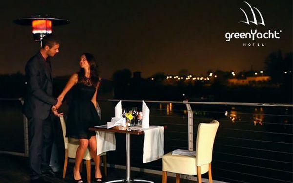 Valentýn v hotelu GreenYacht**** na Vltavě