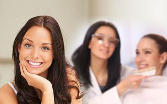 BĚLENÍ ZUBŮ metodou NewWhiteSmile za skvělých 1 350 Kč! Vybělení zubů až o 6 odstínů! Bezbolestná 40-ti minutová terapie, která nepoškozuje sklovinu ani fasety! Krásný úsměv se slevou 65%!