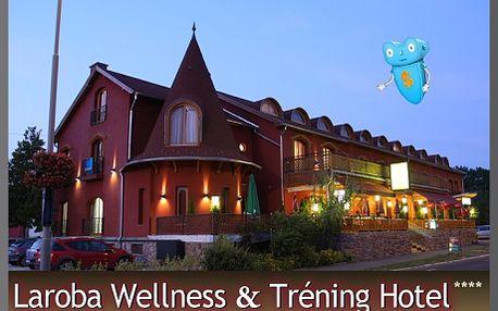 Maďarsko, pobyt na 3 dny pro 2 osoby s polopenzí a vstupem do hotelového Wellness! Komfortní Hotel Laroba**** se nachází v blízkosti oblíbeného jezera Balaton a nabízí díky svému vlastnímu skvěle vybavenému wellness centru možnost příjemně strávit Vaší dovolenou.