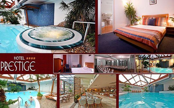 3 dny pro dva v hotelu Prestige**** s bohatým wellness programem a polopenzí s večeřemi A´La Carte.