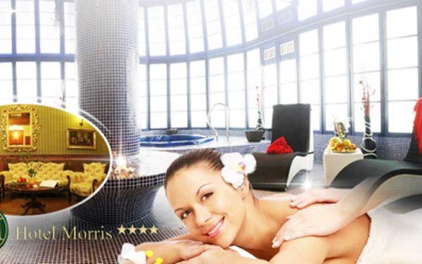 Luxusní wellness hotel Morris**** a nabitý 5-denní balíček pro dva jen za 7390 Kč! Bohatá POLOPENZE, vstup do AQUAPARKU, celkem 24 WELLNESS procedur! Sleva 60%!